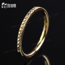 Hot sales gold plated ring without stones