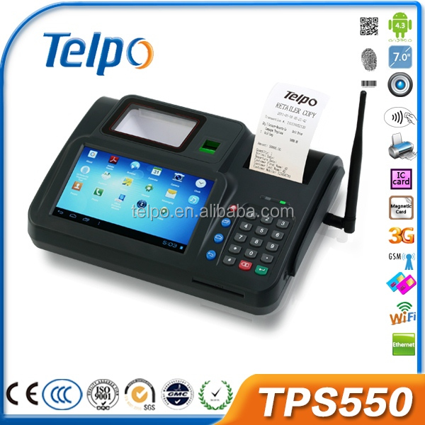 Telpo bread distributors nfc windows rugged tablet pc android pos device TPS550