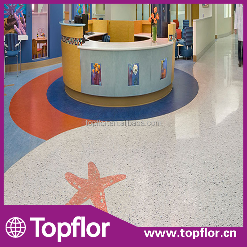 Commercial Retail Application Vinyl Flooring For Kids