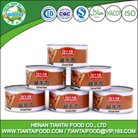 canned style corned beef halal