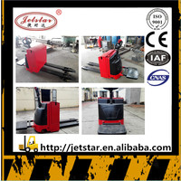 1.5 ton Brand Jetstar Newest Export Transport Electric Pallet Truck