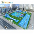 Best offer inflatable water park, Inflatable land Water Park For adults and kids