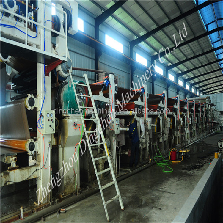 25tons Recycled Fluting Paper Making Machine/Corrugating Base Paper Machine/Corrugating Medium Paper Machine