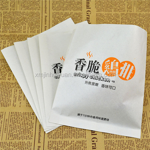 Fried Chicken Oil Proof Package Paper Bag