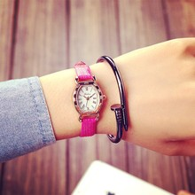 Wholesale China Lady Square Shaped Girl watch Women Watches For Small Wrists wh3018