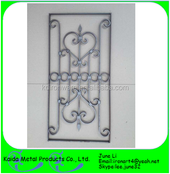 wrought iron security grills for windows with glasses inside