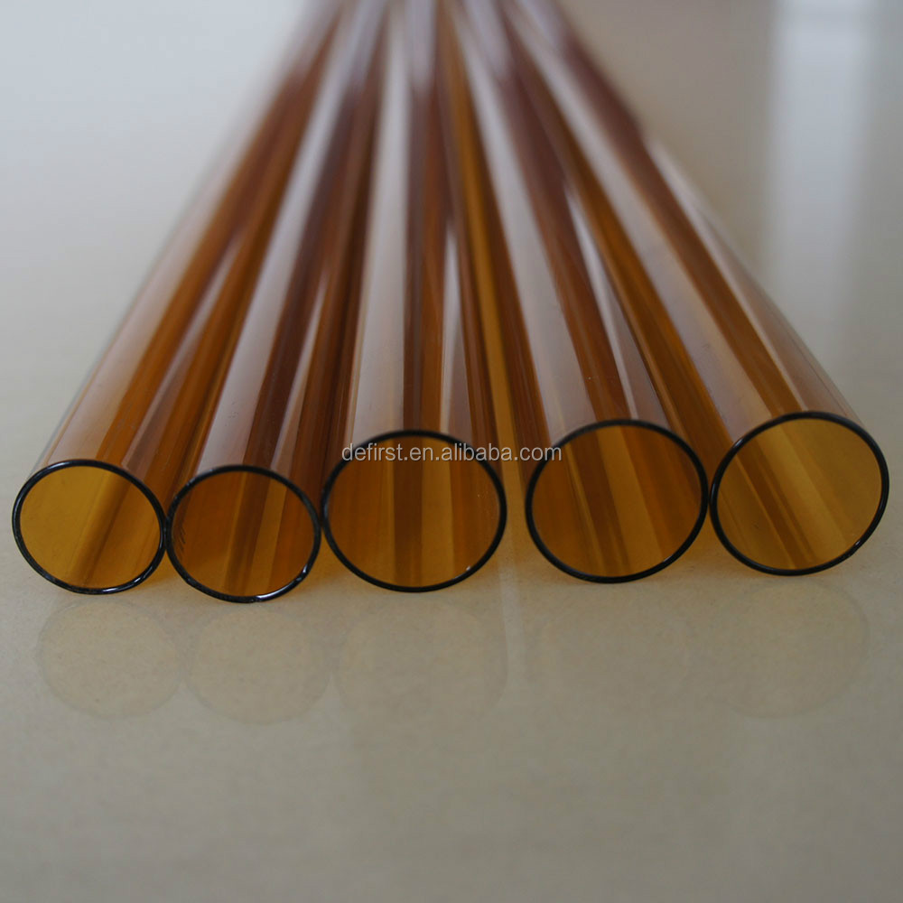 amber soda glass tube
