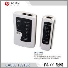 LY-CT005 RJ45 RJ11/RJ12 CAT5 CAT6 STP CAT7 UTP <span class=keywords><strong>de</strong></span> <span class=keywords><strong>RED</strong></span> LAN CABLE TESTER