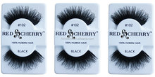 Fashion style paper cut red cherry lashes