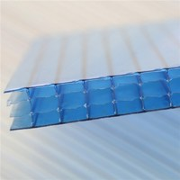 Greenhouse polycarbonate roof panel and diffusion polycarbonate sheet