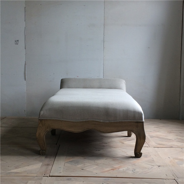 French Provincial wooden single bed design furniture