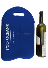 new style fashion promotional custom neoprene bottle wine tote bags