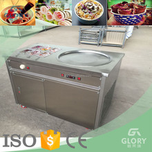 China supplier taylor commercial flat pan fried ice cream machine price