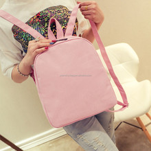 New Casual Preppy Style Canvas Backpack Girls Student Cute School Bags