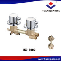 Manufacturer 2 years warranty cheap bathroom faucets HX-6002 brass tap shower faucet