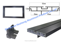 2016 high quality double sides led screen aluminum extrusion profiles