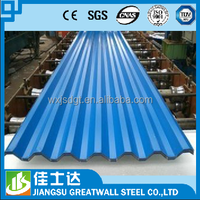 corrugated metal sheets /type of roofing sheets / color coated hot dipped galvanized coil