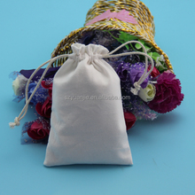 custom size blank drawstring cotton bags 5x7