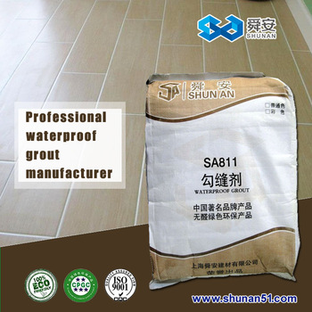 Colorful Cement Powder Tile Adhesive Waterproof Grout