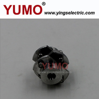 YUMO 10X10 D45 flexible camlock pipe shaft hydraulic quick flexible rubber tapered shaft coupling