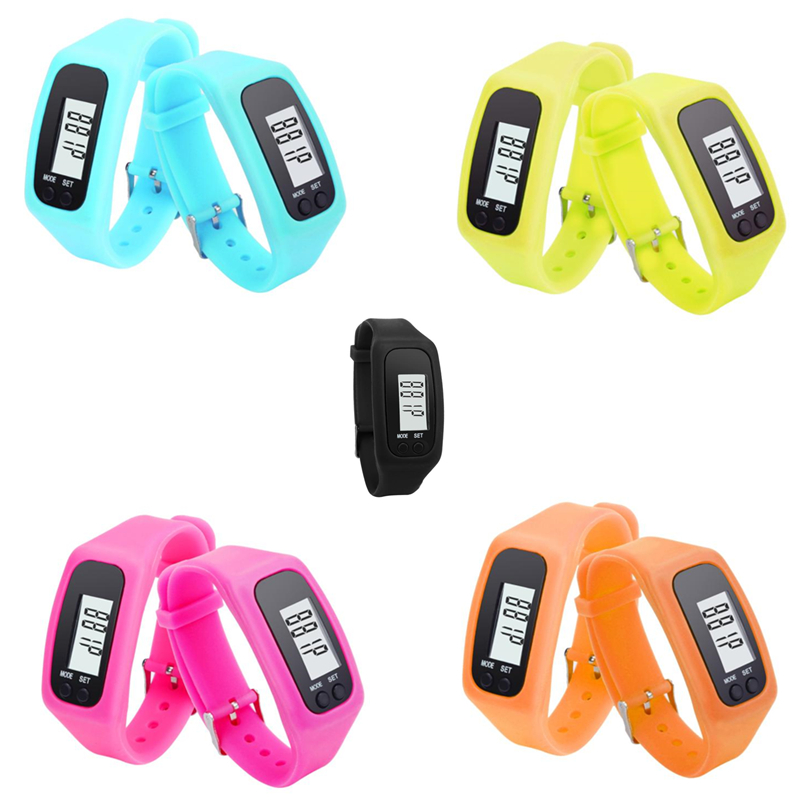 2016 Fob Best Quality Real Time Silicone Strap Wrist Watch