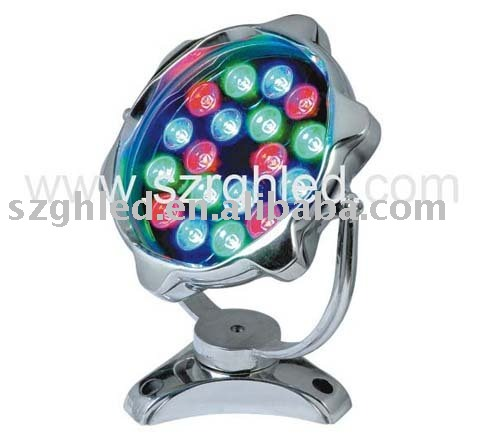 Superbright 18*1w LED underwater light/led swimming pool light