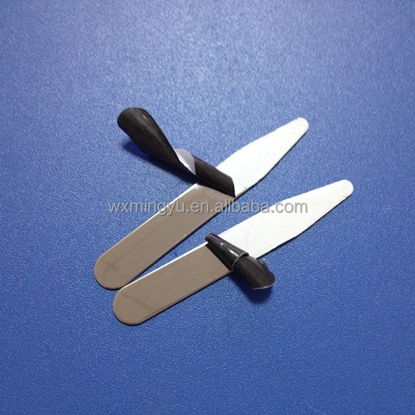 High Quality Shirt Stainless Steel Bone Collar Stays With Film Protected