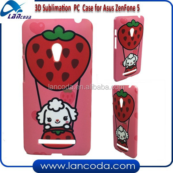 custom design 3D sublimation case for Asus ZenFone 5,china sublimation phone cover distributor,mobile phone case factory