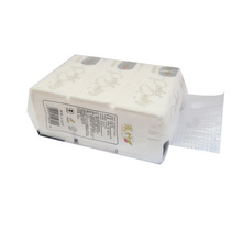 Customized white flat box facial tissue