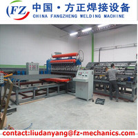 fence supporting welded mesh welding machine for double wire ---direct manufacture