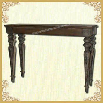 Shabby chic retro console table wholesale