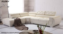 leather sectional customized sofa for living room 2015 collection