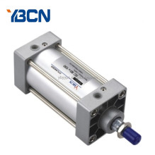 Adjustable stroke double acting mini pneumatic cylinders