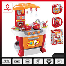 Loongon plastic kitchen toy set