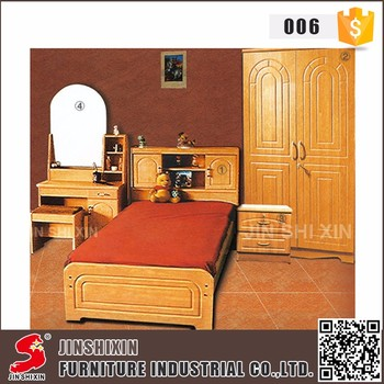 Home used furniture pvc surface mdf wooden latest bedroom furniture designs