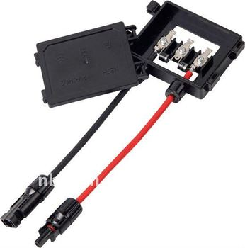 Tuv Certified Solar Panel Junction Box With Mc4 Connector