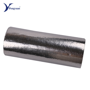 Superior aluminum foil fireproof coated woven fabric