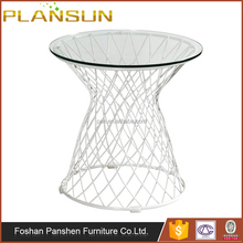 American knoll style wholesale replica metal dining wire mesh table