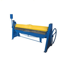 best selling <strong>W11</strong>-1.5*2000 aluminum SS sheet metal manual folding <strong>machine</strong>