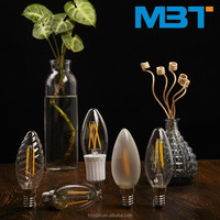 M.B.T LIGHTING 2w 3w 4w E12 E14 dimmable candle with led light led Candle Lamp Alibaba China