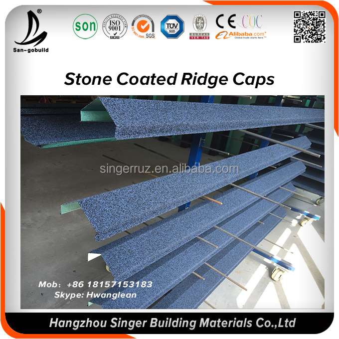 Sidewall flashing of roofing sheet accessories, Stone coated metal roofing sheet