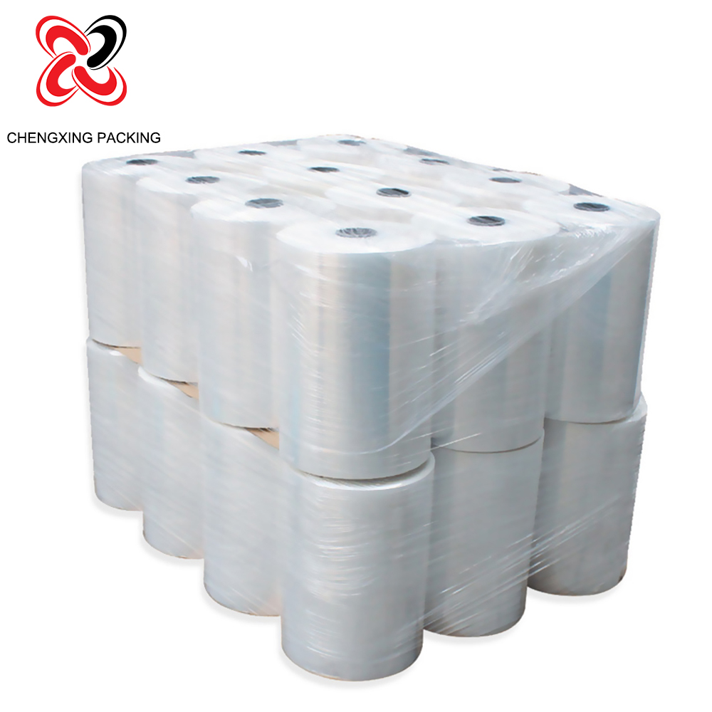 Chinese factory LLDPE stretch film /wrap film for hand and machine use
