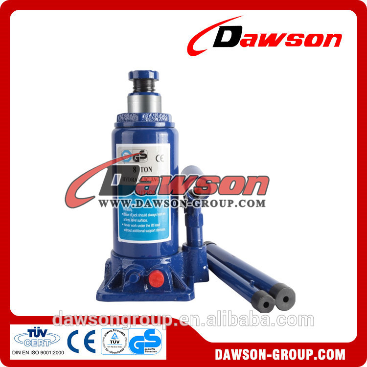 good quality 5 ton hydraulic bottle jack from manufacturer in china with CE ISO certificate
