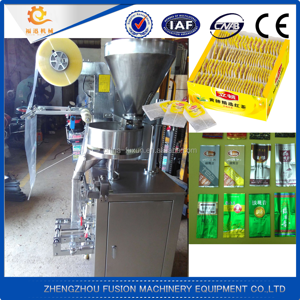 New design price tea bag packing machine