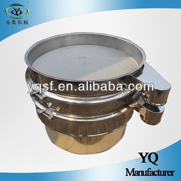 YongQing 800mm diameter rotary vibratory sifter,vibrating sifter equipment for dry and wet screening
