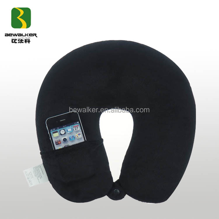 Multi-function Practical Head Massage Pillow Cover With Phone Holder In Trip