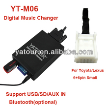 Yatour Car audio Digital Music Changer for Toyota/Scion/Lexus