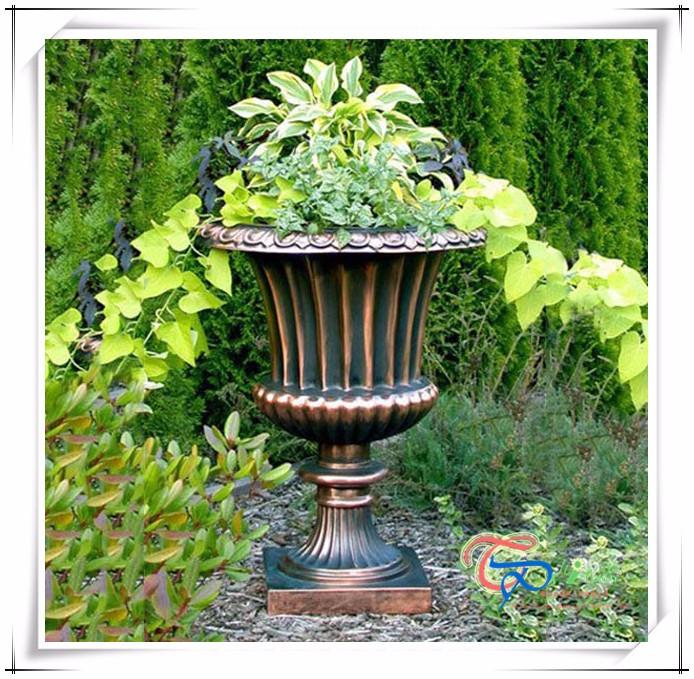 Fiberglass Flower Pots Amp Planters : Popular fiberglass roman style flower pots planters garden