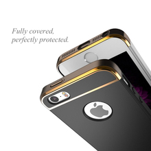 CAFELE Original Case for cell phone Luxury Hard PC Armor shell Micro Scrub touch feel phone case for Apple iphone 5 5c 5s