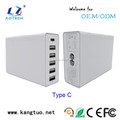 wall 6 port usb charger with sync smart IC